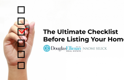 The Ultimate Checklist To Complete Before Listing Your Home