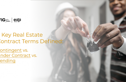 3 Key Real Estate Contract Terms Defined: Contingent vs. Under Contract vs. Pending