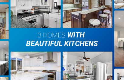 3 Homes With Beautiful Kitchens