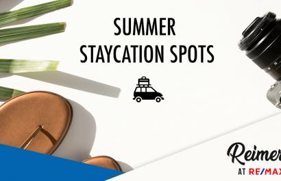 Summer Staycation Spots in Midland, MI.