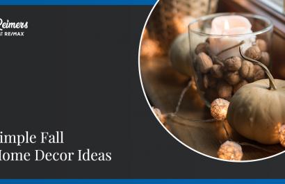 11 Simple Fall Home Decor Ideas