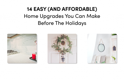 14 Easy (and Affordable) Home Upgrades You Can Do Before the Holidays 🎄