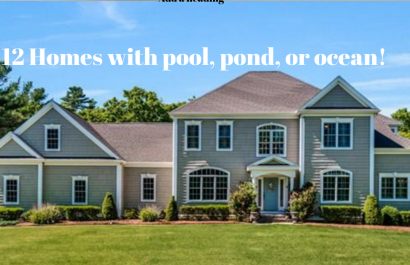 Homes with pool, pond, or ocean