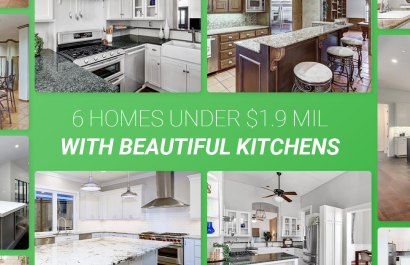6 Homes With Beautiful Kitchens Under $1.9 Million