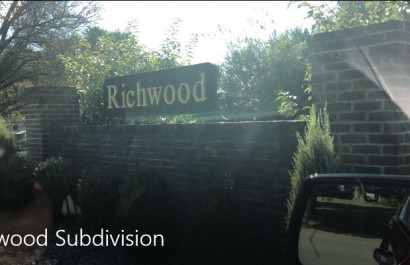 On the Road with #MARCUMsold: Richwood Subdivision