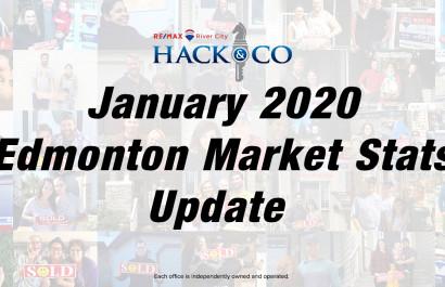 January 2020 | Edmonton Housing Market Statistics