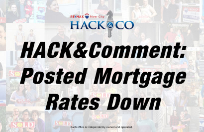 HACK&Comment: Posted Mortgage Rates Down