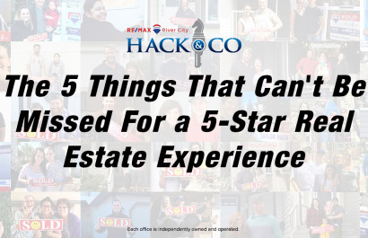 The 5 Things That Can't Be Missed for a 5-Star Real Estate Purchase Experience
