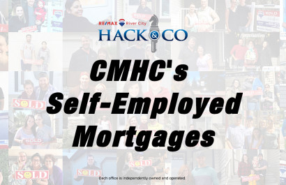 CMHC Self Employed Mortgage Changes