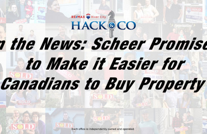 In The News: Scheer Promises to Make it Easier for Canadians to Buy Property
