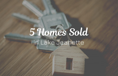 5 Homes Recently Sold in Lake Jeanette, Greensboro, NC | Michelle Porter Realtors