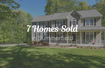 7 Homes Sold in Summerfield, NC | Michelle Porter Realtors