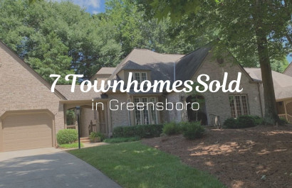 7 Townhomes Sold in Greensboro, NC | Michelle Porter Realtors