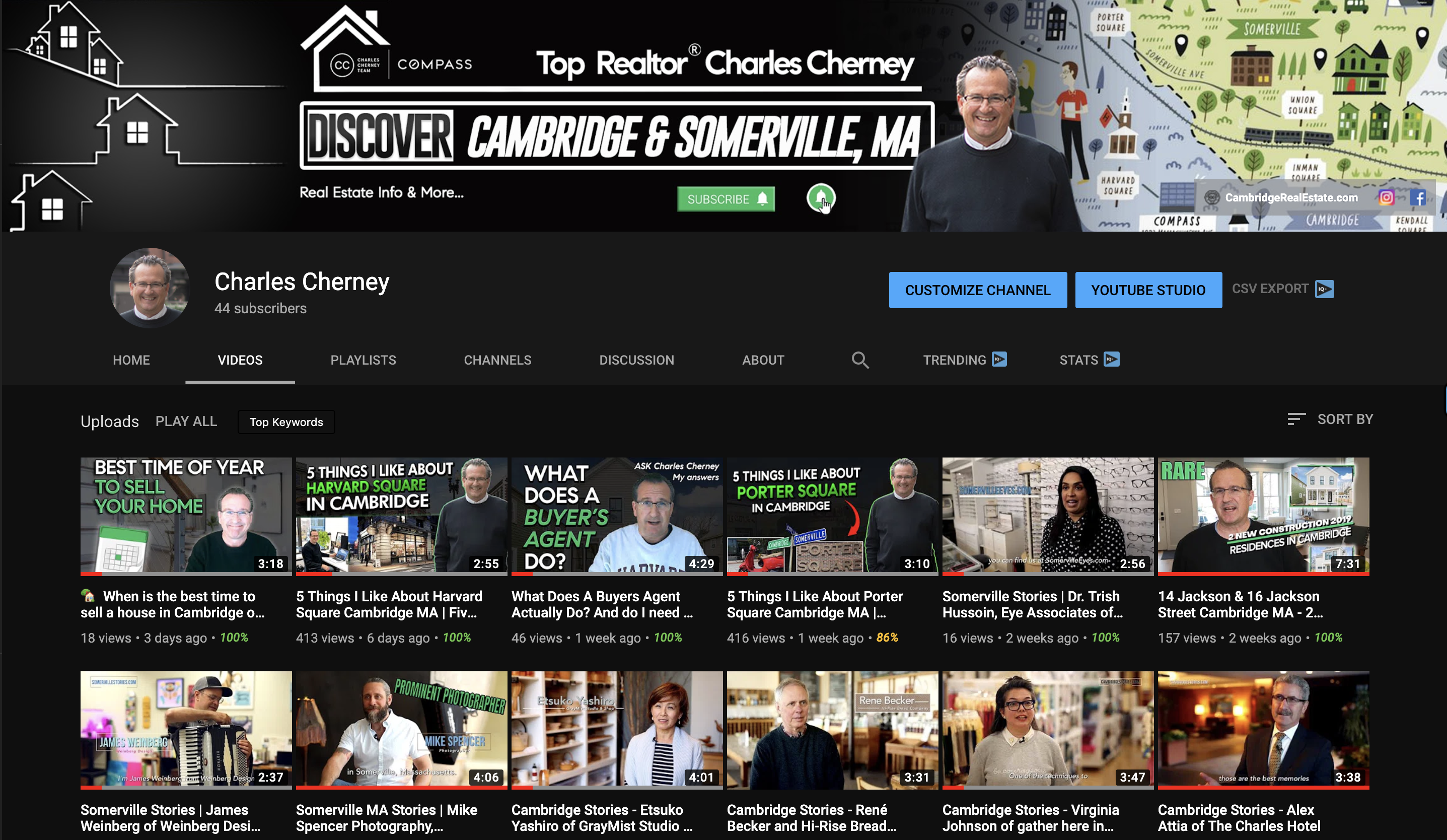 @Charles Cherney - Watch my Youtube Videos!