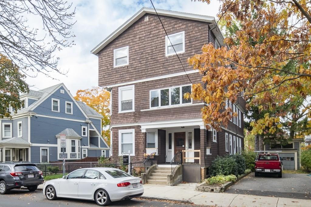 Larger two-family near Porter Square