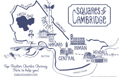 Ask Charles Cherney - What are the Squares of Cambridge, MA?