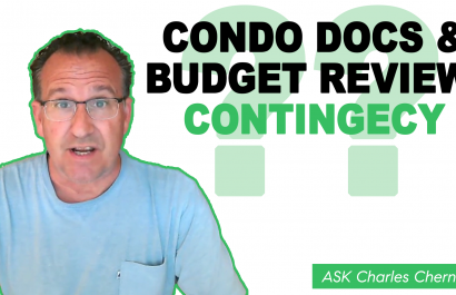 Ask Charles Cherney - What is the condo docs and budget review contingency?