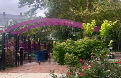 Walnut Street Park in Somerville, MA