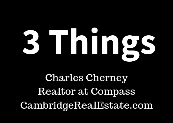 3 Things post series with Charles Cherney