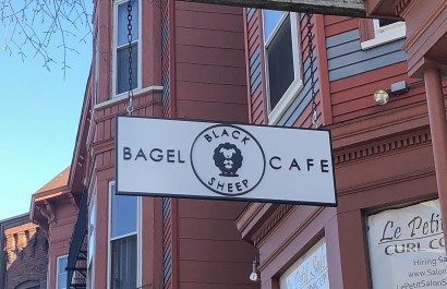 Black Sheep Bagel Cafe in Cambridge, Massachusetts