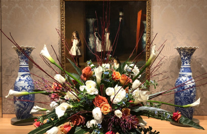 Art in Bloom at Boston's Museum of Fine Arts