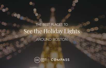 The Best Places To See The Holiday Lights Around Boston
