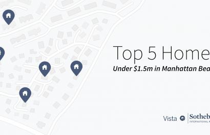 Top 5 Homes Under $1.5m In Manhattan Beach