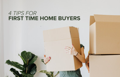 4 Tips for First Time Home Buyers