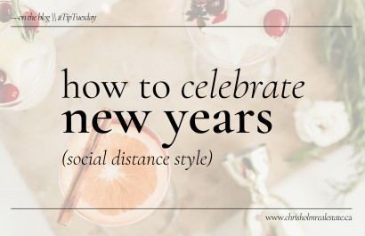 How to Celebrate New Years (Socially Distance Style)