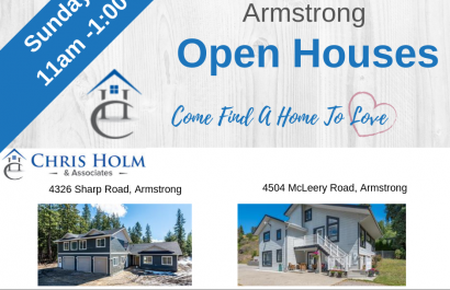Open Houses in and around Vernon Open Houses June 2, 2019