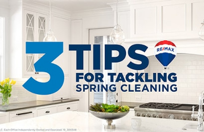 3 Tips for Tackling Spring Cleaning