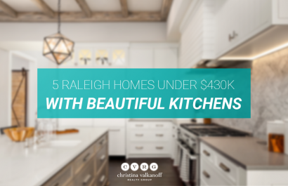 5 Homes With Beautiful Kitchens Under $430K