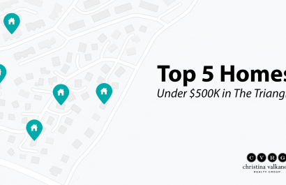 Top 5 Homes Under $500K In The Triangle