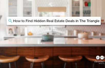 How to Find Hidden Real Estate Deals in The Triangle