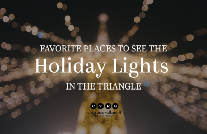 Favorite Places to see Christmas Lights by CVRG