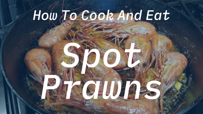 How To Cook And Eat Spot Prawns - Bite Size Seattle