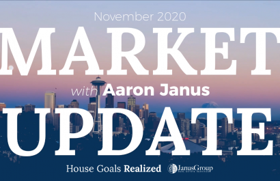 Market Update November 2020 | Seattle Real Estate Video Series | House Goals Realized | JanusGroup at RE/MAX Integrity
