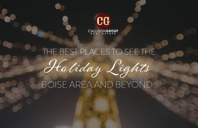 The Best Places To See The Holiday Lights Boise Area And Beyond
