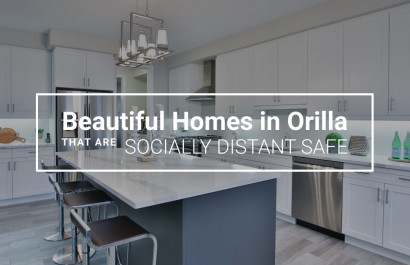 Beautiful Homes in Orillia That Are Socially Distant Safe
