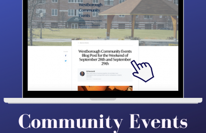 Westborough Community Events for the Weekend of September 28 and September 29th