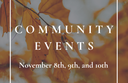 Westborough Community Events for the Weekend of  November 9th and 10th