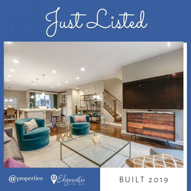 Just Listed Libertvyille Luxe Townhouse