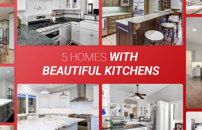 5 Homes With Beautiful Kitchens