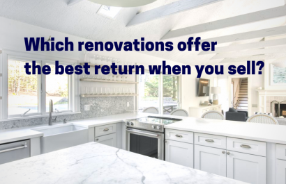 Which renovations offer the best return when you sell?