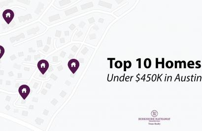 Top 10 Homes Under $450K In Austin