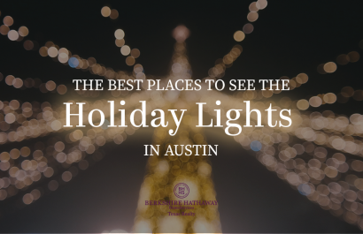 The Best Places To See The Holiday Lights in Austin