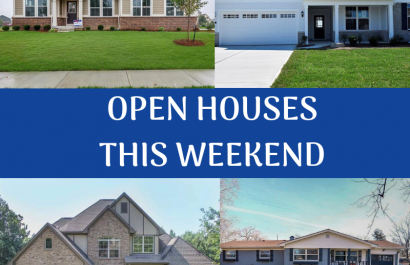 Open House list for this weekend