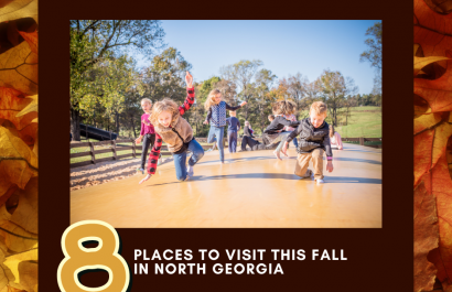 8 Places to Visit this Fall in North Georgia 🍁
