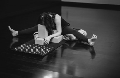 You do not need to be flexible to do yoga