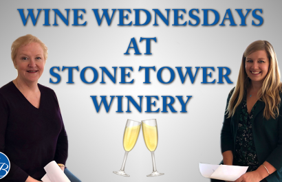 Wine Wednesday With Robyn At Stone Tower Winery